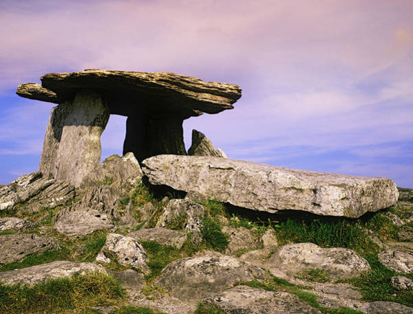 Wall Art - Photograph - Ireland, Burren Ancient Poulnabrone by Jaynes Gallery