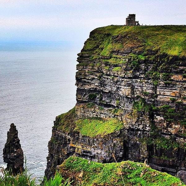 Wall Art - Photograph - #ireland #cliffsofmoher #landscape by Luisa Azzolini