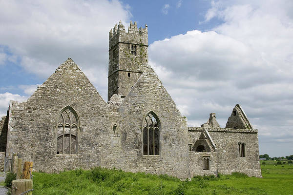 Franciscan Photograph - Ireland, Galway View Of The Medieval by Jaynes Gallery