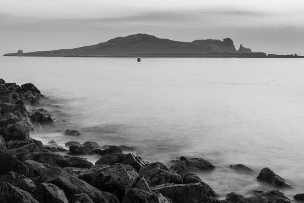 Wall Art - Photograph - Ireland's Eye In Black And White by Semmick Photo