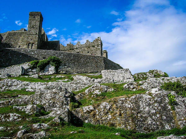 Photograph - Ireland's Historic Rock Of Cashel by James Truett