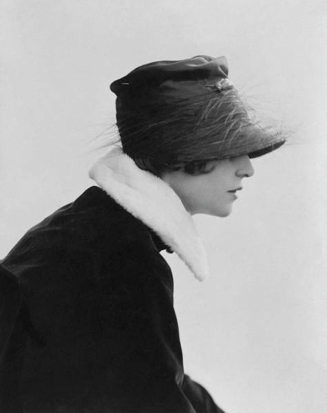 Photograph - Irene Castle Wearing A Hat by Rita Martin