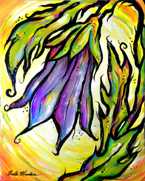 Painting - Iridescent Bell by Nada Meeks