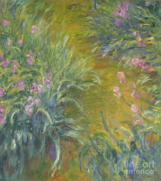 Annenberg Painting - Iris by Claude Monet