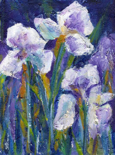 Painting - Irises by Tanya Filichkin