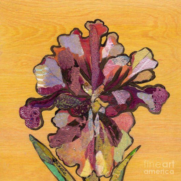 Decorating Wall Art - Painting - Iris I Series II by Shadia Derbyshire