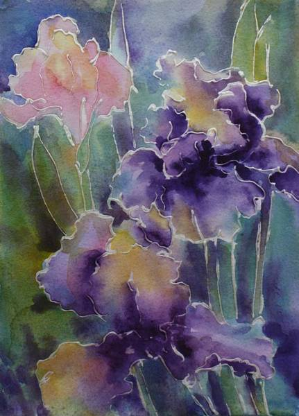 Painting - Iris Love by Tara Moorman