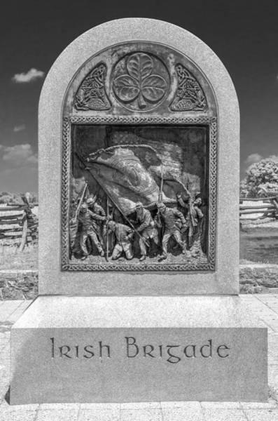 Photograph - Irish Brigade  7d02855b by Guy Whiteley