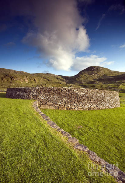 Photograph - Irish Fort by David Lichtneker