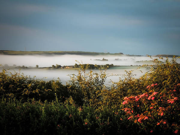 Photograph - Irish Mist Over Lissycasey by James Truett