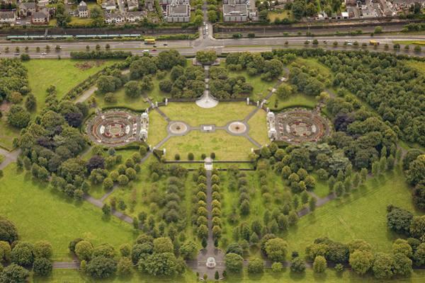 Dun Photograph - Irish National War Memorial Park & by Colin Bailie