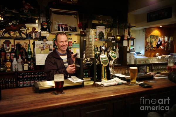 Bar Tender Photograph - Irish Pub by Hank Taylor