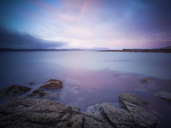 Wall Art - Photograph - Irish Seascape With Rainbow by Peter McCabe