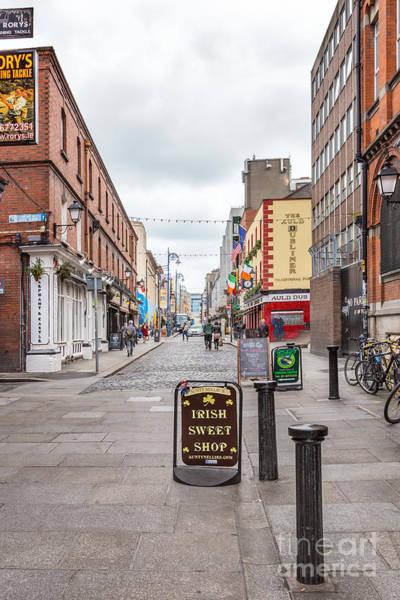 Dublin Photograph - Irish Sweet Shop by Evelina Kremsdorf