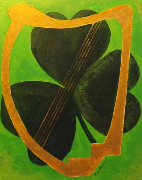 Wall Art - Painting - Irish Symbols by Rich Mason