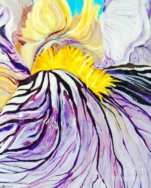 Painting - Irisiris by Lizi Beard-Ward