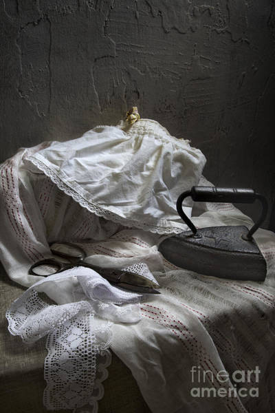 Photograph - Iron And Lace by Elena Nosyreva