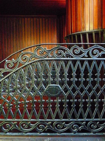 Photograph - Iron And Wood by Jeff Lowe