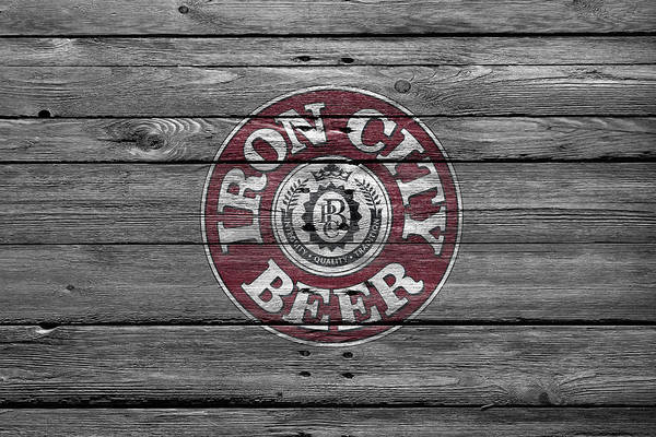Wall Art - Photograph - Iron City Beer by Joe Hamilton