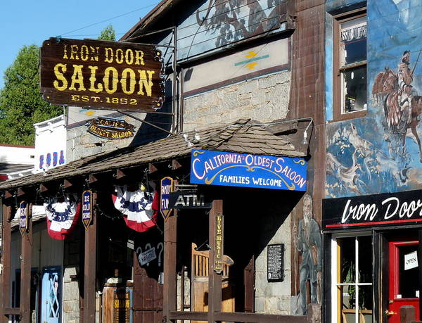 Photograph - Iron Door Saloon by Jeff Lowe