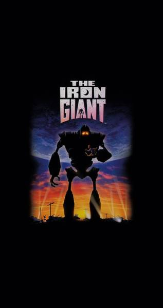 Animated Digital Art - Iron Giant - Poster by Brand A