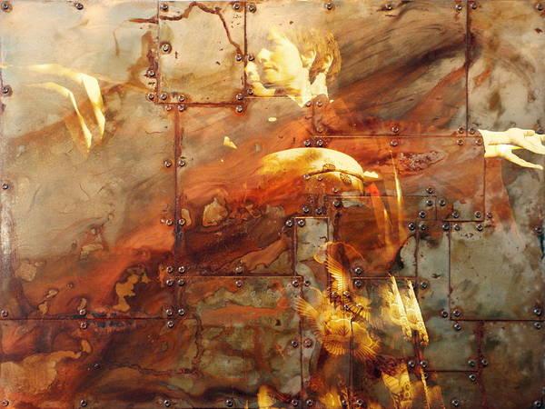 Iron Maiden Wall Art - Digital Art - Iron Maiden I by Angie Wingerd