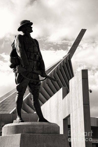 Museum Wall Art - Photograph - Iron Mike At The National Marine Corps Museum by William Kuta