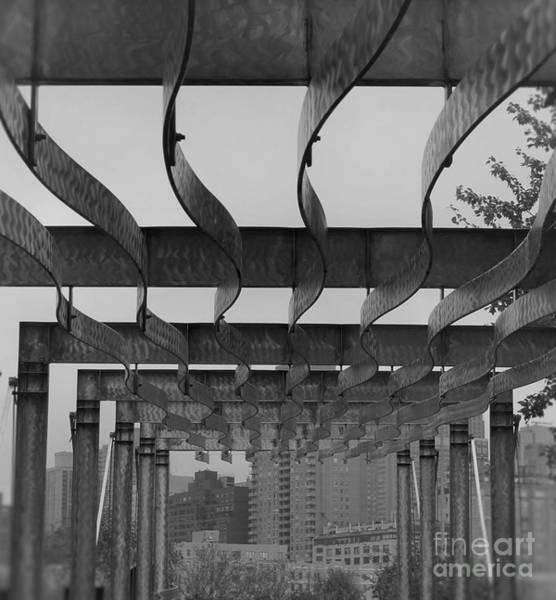 Roosevelt Island Wall Art - Photograph - Iron Waves Edit by Eric Peltier