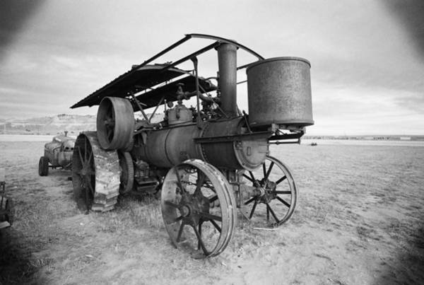 Photograph - Iron Wheels And Steam by HW Kateley