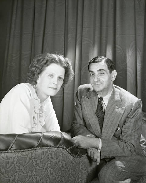 Wall Art - Photograph - Irving Berlin And Ellin Mackay Berlin by Horst P. Horst