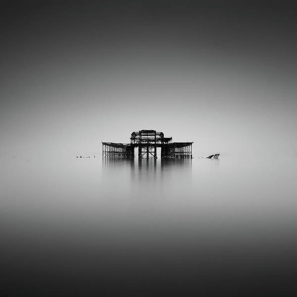 Brighton Pier Photograph - Is There Anybody Out There by Vulture Labs
