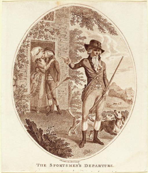 Stipple Drawing - Isaac Cruikshank, British 1756-1810-1811 by Litz Collection