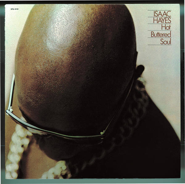 Wall Art - Digital Art - Isaac Hayes -  Hot Buttered Soul by Concord Music Group