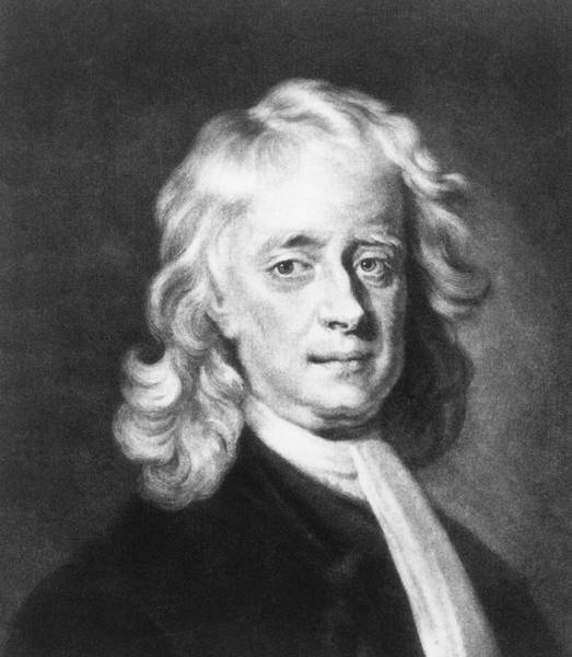 Wall Art - Photograph - Isaac Newton by American Institute Of Physics/science Photo Library