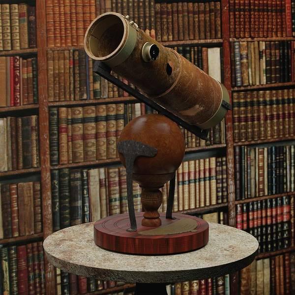 1600s Wall Art - Photograph - Isaac Newton's Reflecting Telescope by Power And Syred, Libreria Bardon/science Photo Library