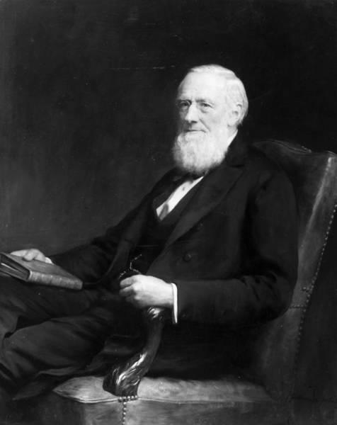 Arthurs Seat Painting - Isaac Pitman (1813-1897) by Granger