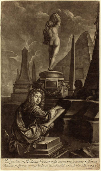 1715 Drawing - Isaak Beckett After Simon Du Bois English by Quint Lox