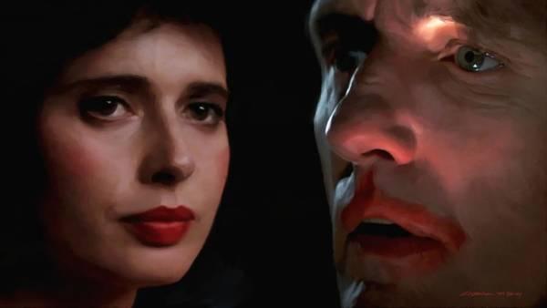 Digital Art - Isabella Rossellini And Dennis Hopper by Gabriel T Toro