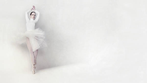 Ballerina Photograph - Isha by Bettina Tautzenberger