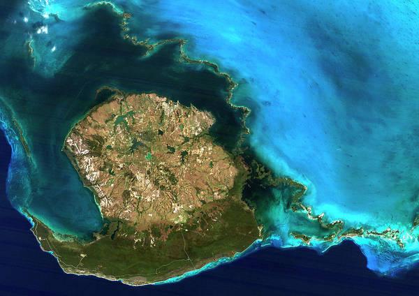 Isla Wall Art - Photograph - Isla De La Juventud by Planetobserver/science Photo Library