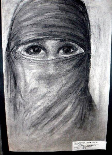 Wall Art - Drawing - Islam by Lauren  Pecor