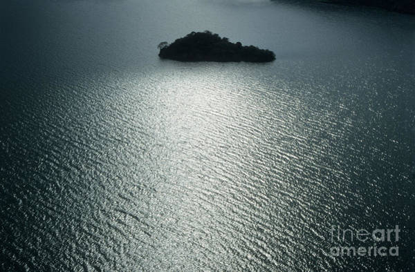 Photograph - Lugu Lake Island And Ripples China by James Brunker