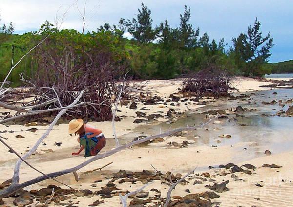 Bahamas Digital Art - Island Beachcomber by Deborah Smith