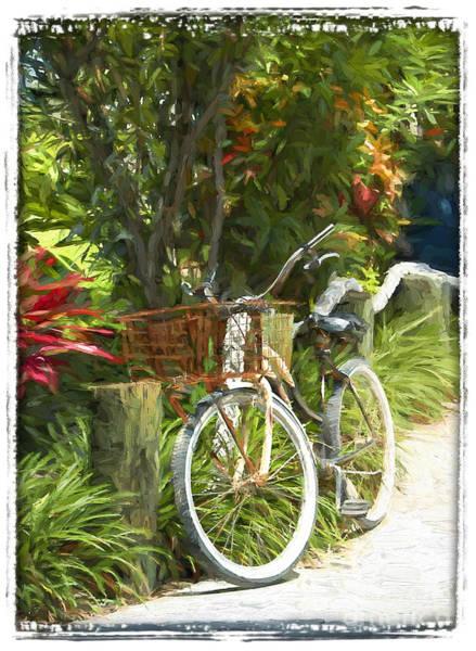 Island Bike Art Print