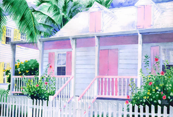 Painting - Island Charm by Pauline Walsh Jacobson