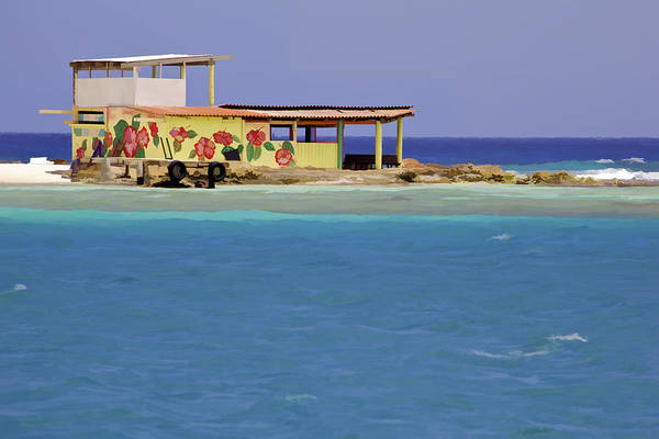 Photograph - Island Fisherman Hut Of Aruba by David Letts