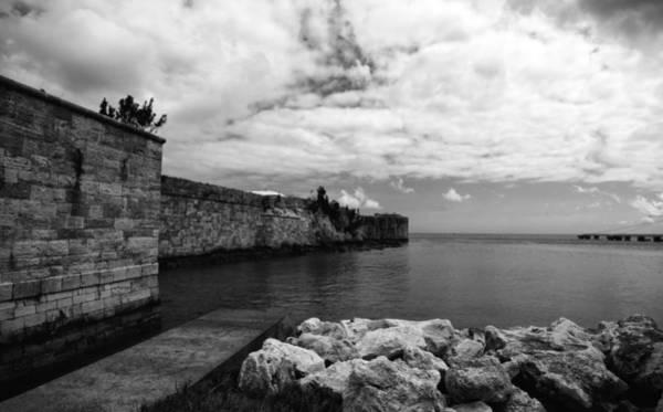 Island Fortress  Art Print