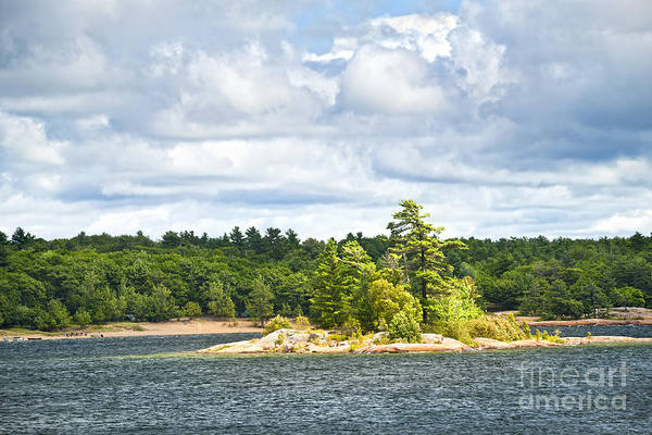 Photograph - Island In Georgian Bay by Elena Elisseeva