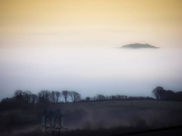 Photograph - Island In The Irish Mist by James Truett
