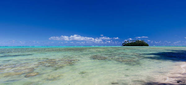 Rarotonga Photograph - Island In The Pacific Ocean, Rarotonga by Panoramic Images